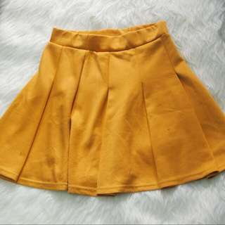 Skirt Mini Orange