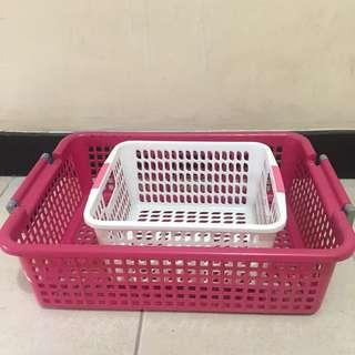 Two Multipurpose Baskets