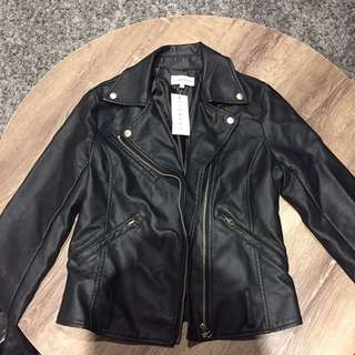 Lioness Faux Leather Jacket
