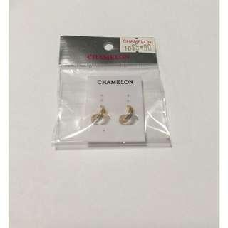 Chamelon Gold Earring