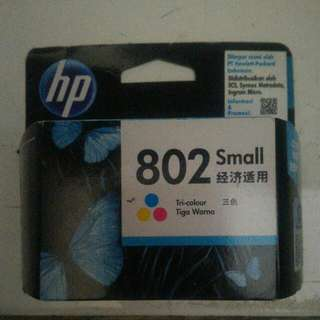 Cartridge HP 802 Small Tricolor
