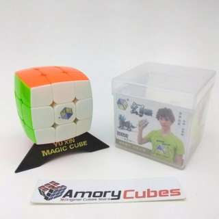 Rubik 3x3 Yuxin Pillow Stickerless / Mainan Anak