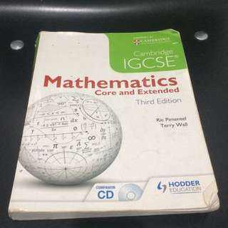 Cambridge  IGCSE Math Textbook