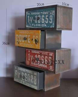 罕有 復古 Vintage 全新木製櫃仔  傢俱 傢具