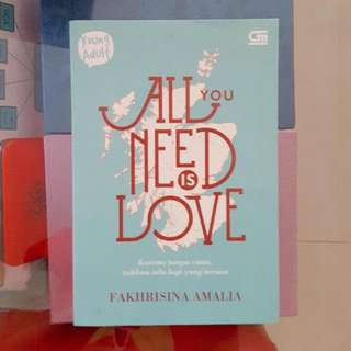 Novel All You Need Is Love