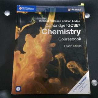 Cambridge Chemistry IGCSE (Fourth Edition)/BUKU PAKET KIMIA IGCSE