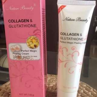 Nature Beauty Collagen and Glutathione Perfect Magic Peeling Cream
