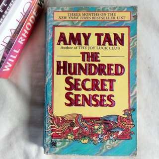 The Hundred Secret Sense By Amy Tan