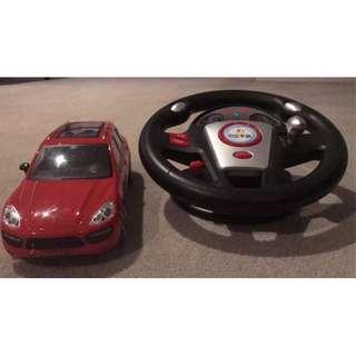 shuangxing toy car model BMW red