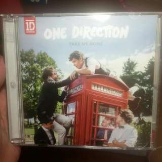 Album CD One Direction - Take Me Home