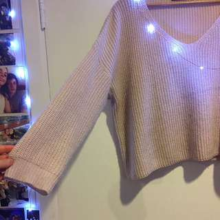 Choker Knitted Jumper