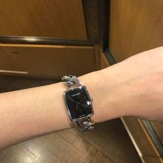 CK 女錶 AMAZE 黑面 購於專櫃 保固內
