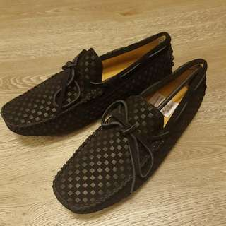 Slip On Shoes Leather Brand New (Mens)