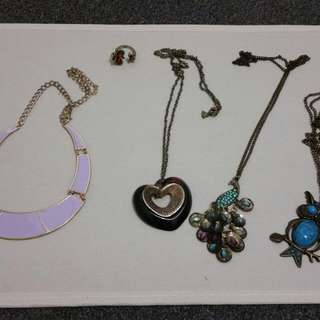 Various of jewellery