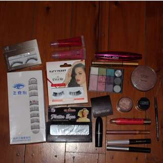 BUNDLE OF CHEAP MAKEUP