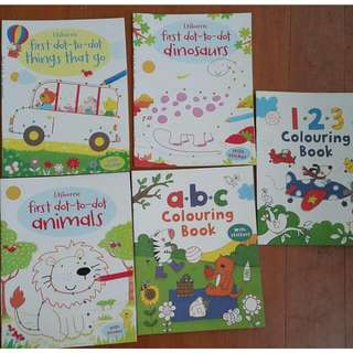Usborne Activity Books