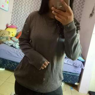 Sweater Warna Mocca