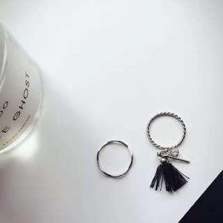 Clearance‼️Taimi Style Tassel Ring