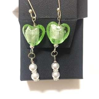 Artisan Handmade Glass Bead Earring