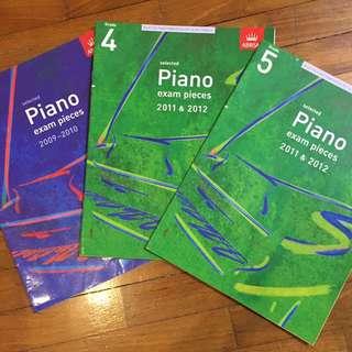 ABRSM Piano Exam Pieces (Grade 3, 4 & 5)