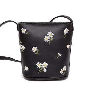 Floral Embroidered Bag