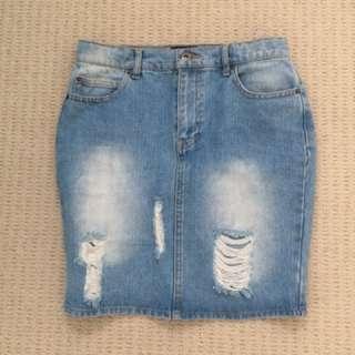 Bardot Junior Denim Skirt