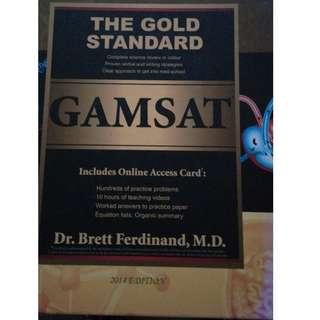 BRAND NEW 2013-2014 Gold Standard GAMSAT Preparation by Dr. Brett Ferdinand