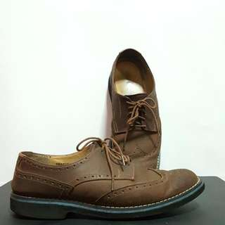Bristol Shoes - Brown Nubuck Leather