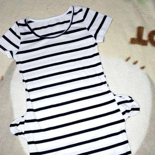 Stripes dress (never been used)