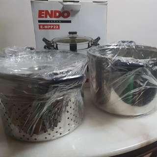 BNIB ENDO Japan Stainless Steel Pot