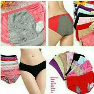 Celana Dalam Buat Menstruasi (Anti Air) Beli 5gratis 1
