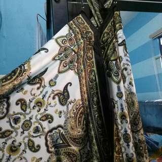 Dress Panjang Satin