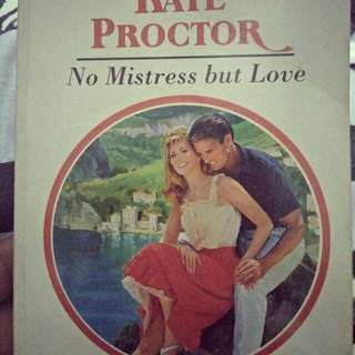 Pre Loved ROMANTIC NOVELS😍 In Paperback!!! Titled: No Mistress But ♥
