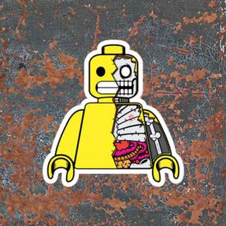 Waterproof Lego Sticker