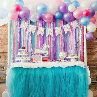Children's  Birthday Party/ Anniversay/ Baby Shower/ Gender Reveal / Christening/  Monthsary Organizer