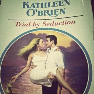 Pre Loved ROMANTIC NOVELS♥ In Paperback!!! Titled: Trial By Seduction