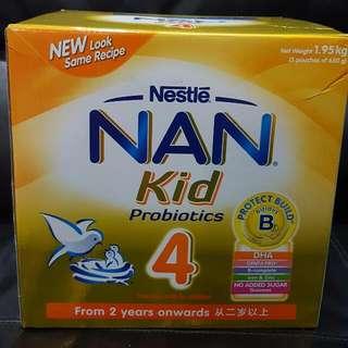 Nan kids probiotics stage 4
