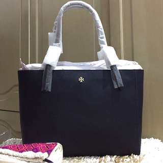 Tory Burch York Tote Small Navy Authentic Bag