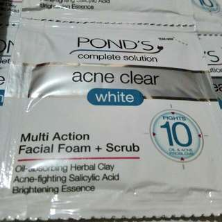 PONDS ACNE CLEAR For ONLY 5 php