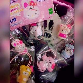 EPOCH絕版 Hello Kitty 吊飾 公仔 扭蛋
