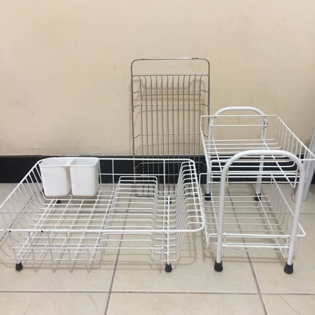 3 Kitchen Drying Racks