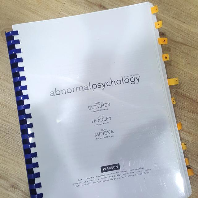 Abnormal psychology 16th edition and testbank books stationery photo photo photo photo photo fandeluxe Choice Image