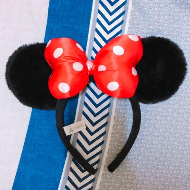 迪士尼正版米妮髮箍