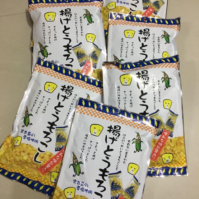 現貨!日本揚出鹽味玉米粒