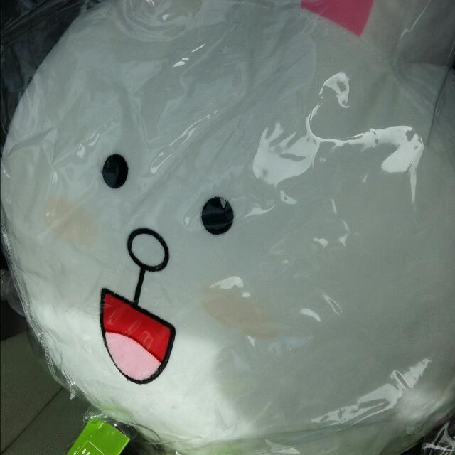 兔寶車用抱枕
