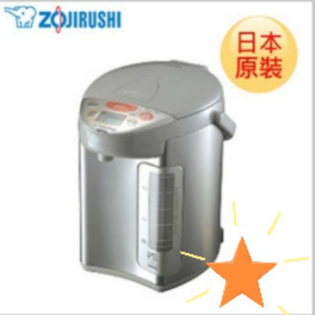 日本原裝進口 象印微電腦真空保溫省電熱水瓶 CV-DSF30