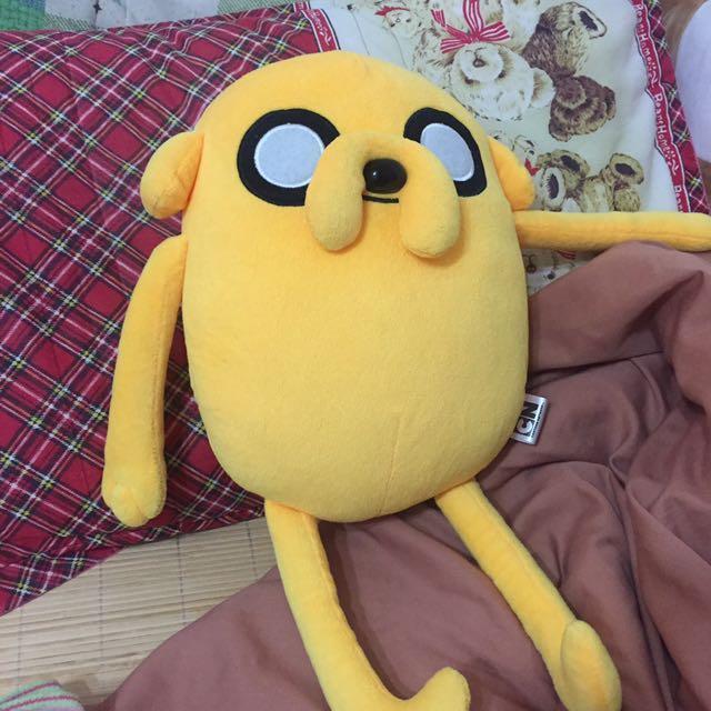 老皮 探險活寶 黃色 娃娃 近全新