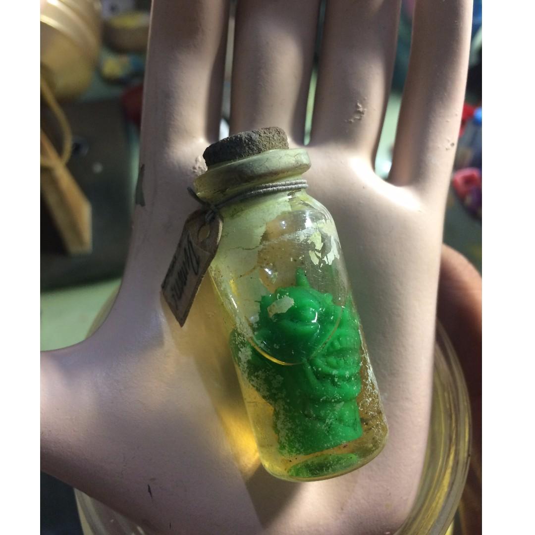 早期 復古 恐怖實驗 獵奇 怪奇 古怪 神秘 [未知綠頭 ET 外星人 水怪 怪獸 瓶中生物] 擺設 培養 刺激 隨機