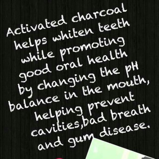 ACTIVE CHARCOAL TEETH