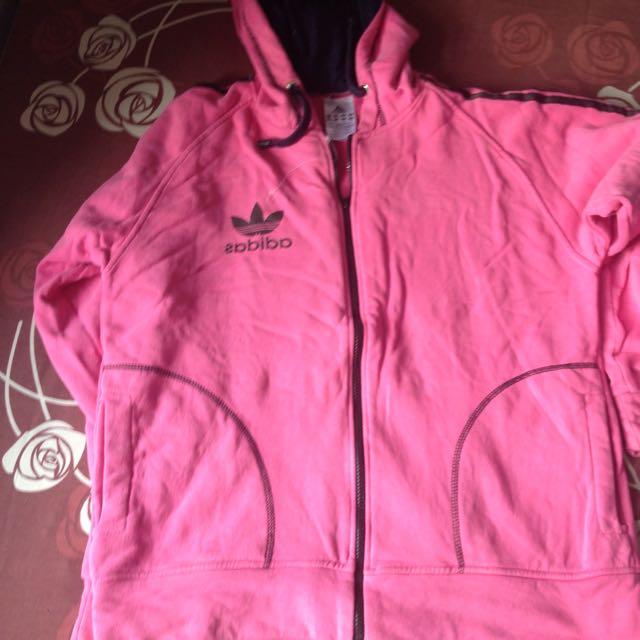 Adidas Pink Jacket